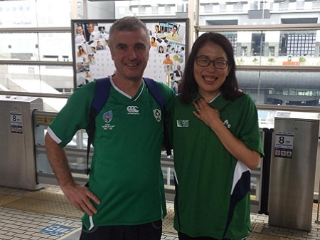Friendly Irish & Japanese guides